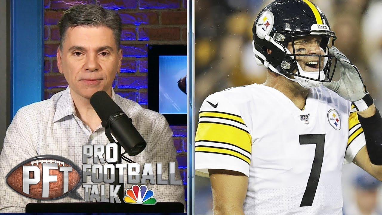 Ben Roethlisberger regrets calling out Antonio Brown | Pro Football Talk | NBC Sports