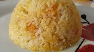 Pumpkin Rice Recipes Home Made | Recipes By Chef Ricardo