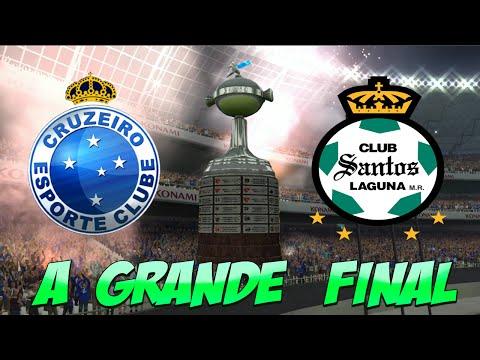 PES 2015 ( FINAL ) Cruzeiro vs Santos Laguna - COPA LIBERTADORES