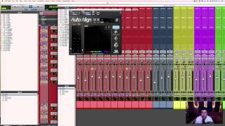 Mixing Indie Folk in Pro Tools | Phase Alignment | 3/11