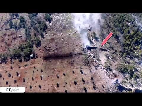 Afrin Zeytin Dalı Operasyon Hd Dron Görüntüsü