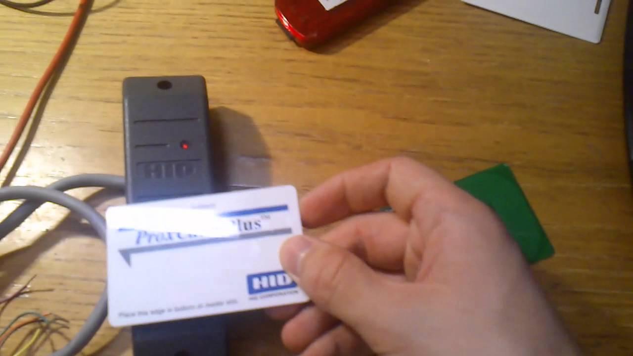 Open RFID Tag - HID Proxcard emulator
