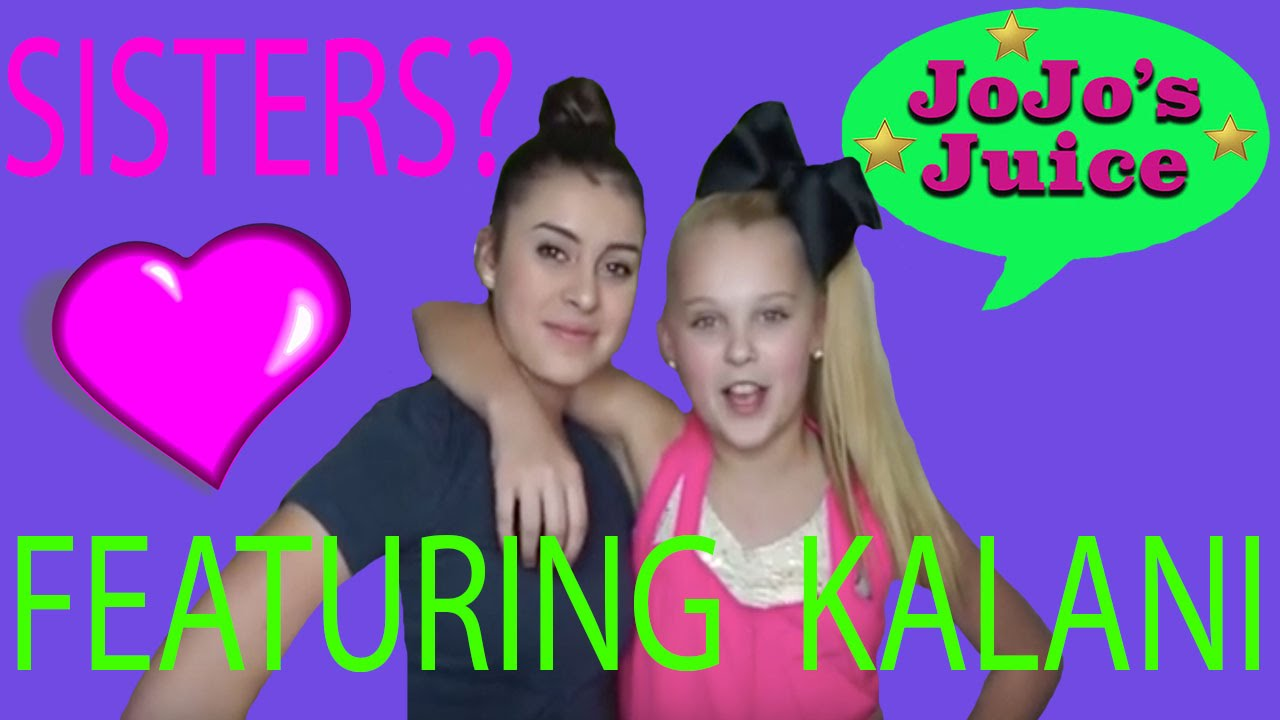 How Me And Kalani Are Related Jojo S Juice Youtube