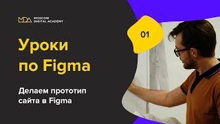 Урок по Figma. 1-часть. Обзор программы. [Moscow Digital Academy]