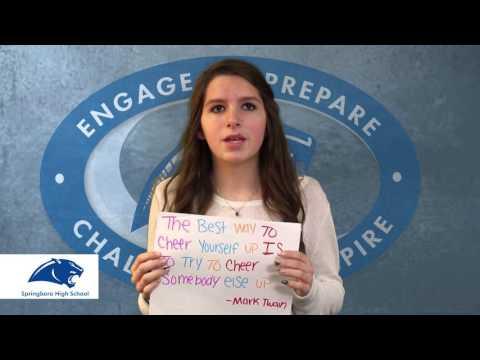 Rachel's challenge Springboro High School