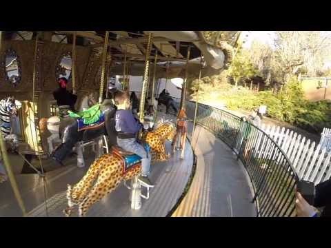 Oakland Zoo Attractions with GoPro