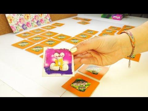 Eva & Kathi spielen Memory mit Diddl Maus | Retro Spiel aus der 90erJahre Kindheit | Spaß & niedlich