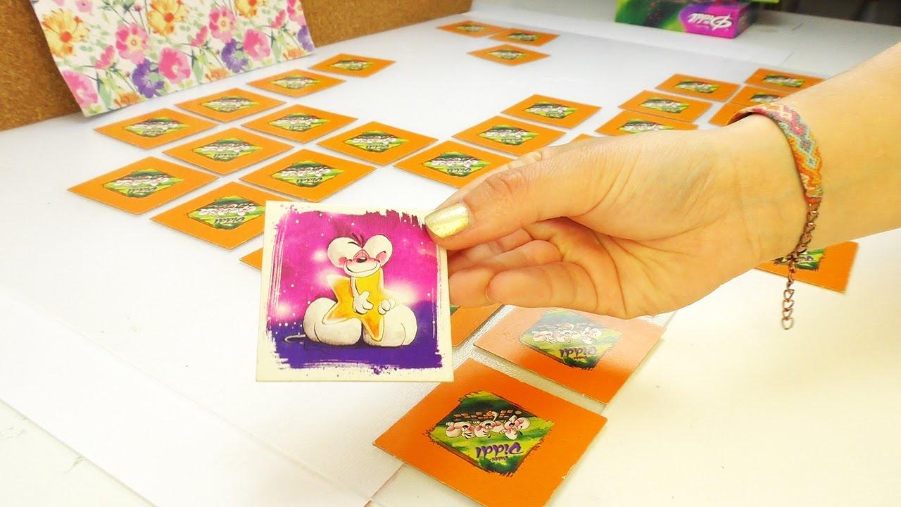 Eva Kathi Spielen Memory Mit Diddl Maus Retro Spiel Aus Der