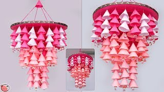 Amazing !!! DIY Paper Wall Hanging | Handmade Paper Craft Things | Wind Chime