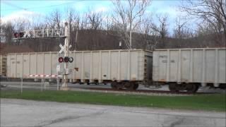 NYS&W SU-99 Vernon Crossing 4-15-15