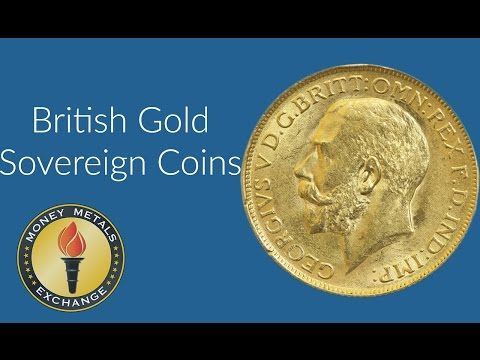 British Gold Sovereign Coin | Royal Mint | Money Metals Exchange