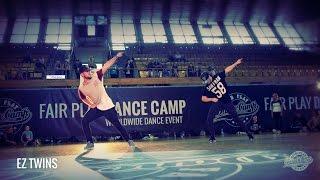EZ Twins   Tennis Court   Fair Play Dance Camp 2014