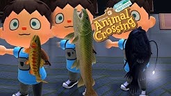 Animal Crossing: New Horizons #14   Huchen, Anglerfisch, Goldforelle!   Let's Play Gameplay Deutsch