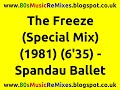 Miniature de la vidéo de la chanson The Freeze (Special Mix)