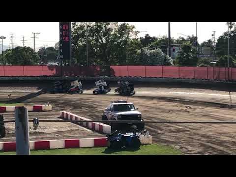 Delta Speedway 6/15/19 Jr Sprint Heat 1C Ty
