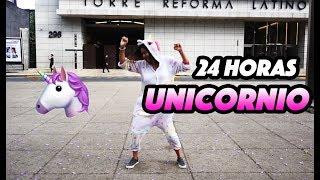 RETO 24hrs siendo un unicornio  - QUEFISHTV