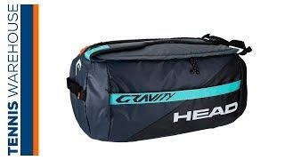 Head Gravity 6 Pack Sport Tennis Bag
