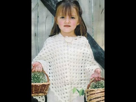 Crochet Patterns For Free Poncho Patterns For Kids 1111 Youtube