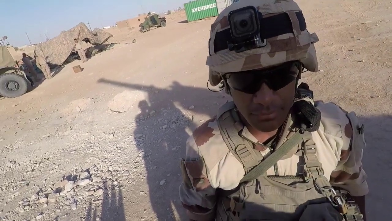 French Artillery Engage ISIS With 155mm Self Propelled Howitzers