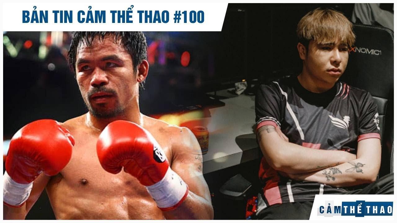 Bản tin Thể Thao #100   Pacquiao úp mở việc giải nghệ, Fan lên tiếng đòi công bằng cho Zeros