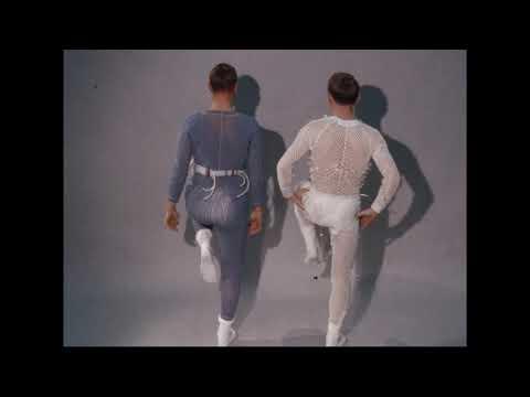 Apollo Liquid Cooled Suit - Westinghouse TV Camera Test - Mobility Test-Apollo Training Suit