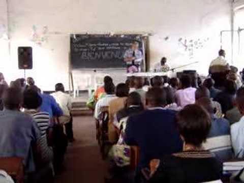 Dr. John Dunaway - DR Congo University Students
