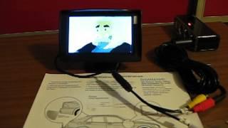 Обзор автомобильного монитора Neoline Camera Display