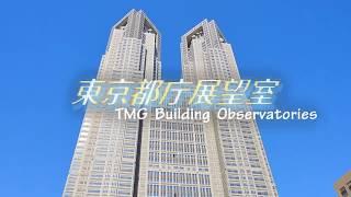 東京都庁展望室~地上202mの高さから東京のまちを一望~