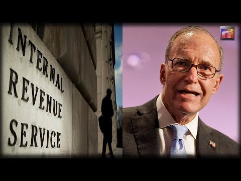 IRS Suffers EPIC Tax Day FAIL So Larry Kudlow Does The Only Thing He Knows What To Do
