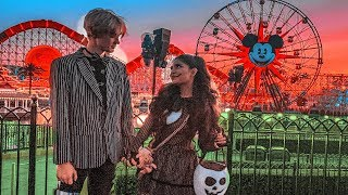 Wearing Couple Costumes On Our Date to Disneyland... InquisitorMaster Vlog