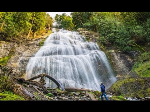 Chasing Waterfalls - Bridal Falls Hope BC With Drones