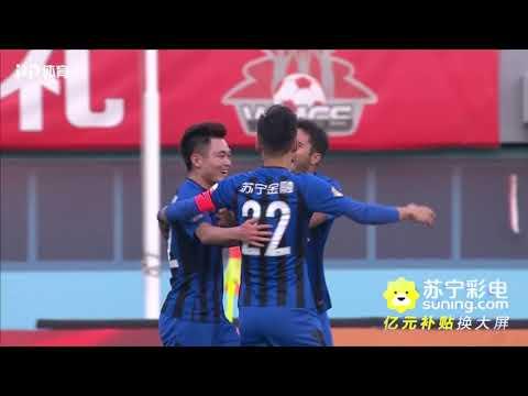 2018 CHA CSL Round 27 Beijing Renhe vs Jiangsu Suning FC