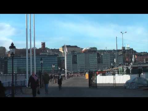 Min morgon promenad i Stockholm april 2014