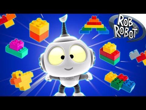 Cartoons | Build Off | Rob The Robot | Episode #90