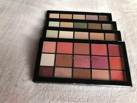 Makeup Revolution Re-Loaded Palettes
