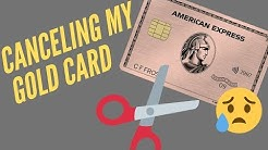Canceling My American Express Gold Card | Waller's Wallet