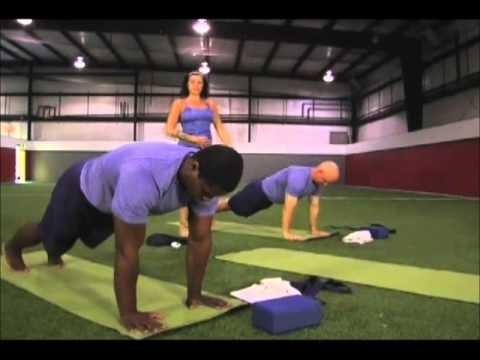 Yoga Stretch -  Power Yoga for Sports - Football DVD - Speed & Agililty