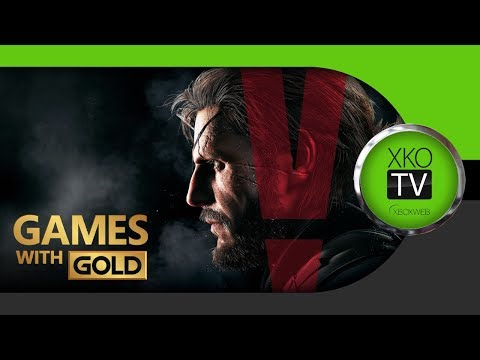 Games with Gold | CZSK | Xbox One X | MGSV vs Vanquish