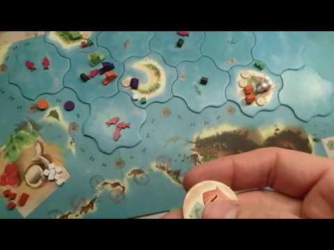 Brettspiel / Boardgame Vanuatu (second edition) - Live gespielt und erklärt (Teil 2)