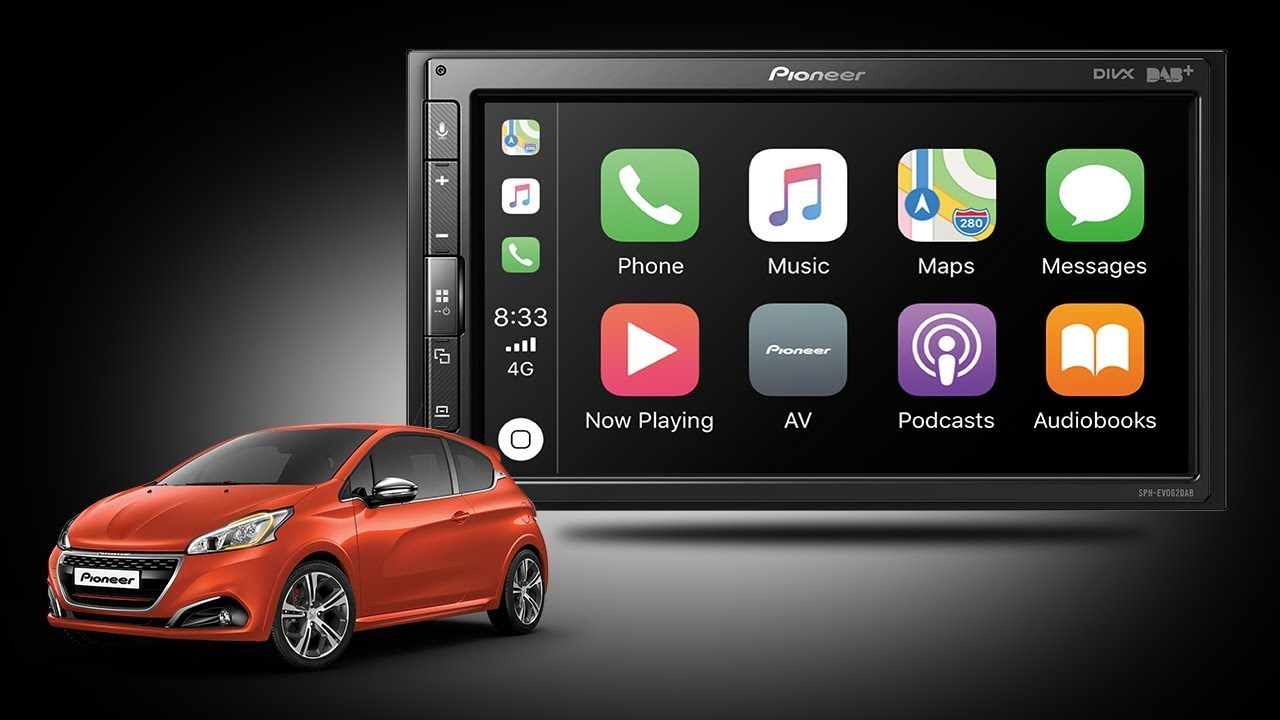 Pioneer Sph Evo62dab 208 X Peugeot 208 Lifestyle Movie Youtube
