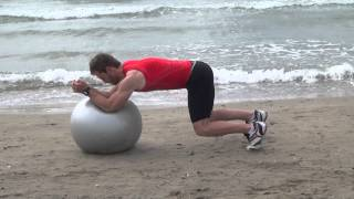 EXERCICES AVEC SWISS BALL 4 TRAINER CORE TRAINING AND CORE STABILITY