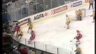 VM-guldet i ishockey 1987: guldfrossan  på TV - del 1 av 8 (Live)