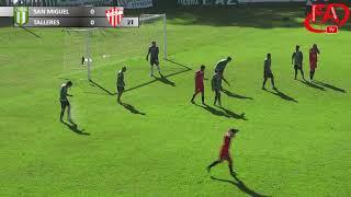 FATV 17/18 Fecha 12 - San Miguel 0 - Talleres 2