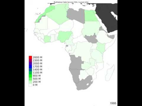 Africa - Multilateral Debt Service - Time Lapse
