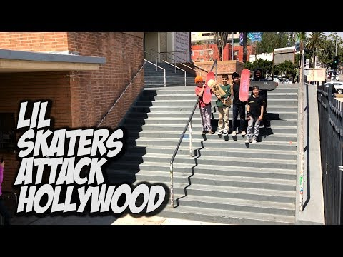 LIL KIDS ATTACK HOLLYWOOD HIGH AND MORE !!! - NKA VIDS -