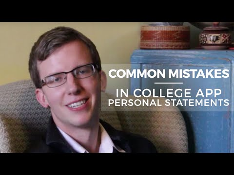 What should I write about in my College Essay Personal Statement on the Common Application?