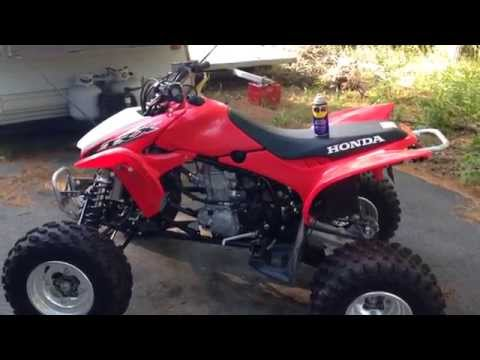 How To Clean And Protect The Plastic Fenders On a ATV or Dirt Bike