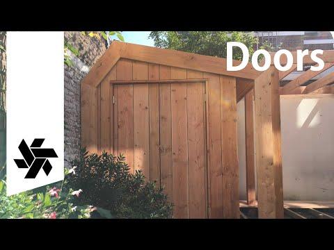 DIY Doors Deck and Pergola // Garden Makeover part 2