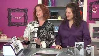 Scrapbook Soup Episode 411-1: Two-Fer Inlaid Die Cut Cards!