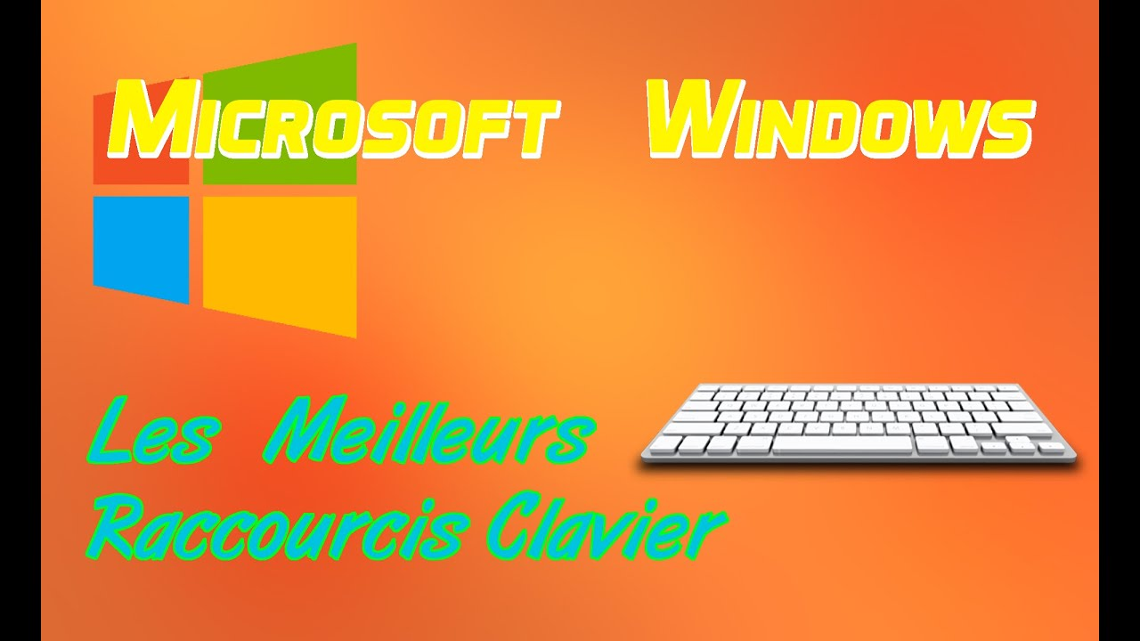 Windows 7 8 et 10 les raccourcis clavier for Raccourci clavier agrandir fenetre windows 7